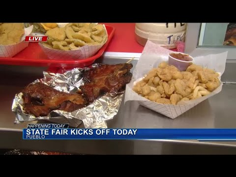 Opening day for the Colorado State Fair