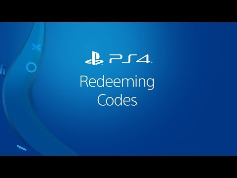 Redeeming Codes On Ps4 Youtube