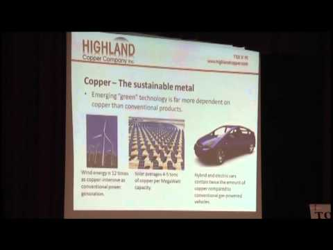 Highland Copper Company gives update on White Pine project