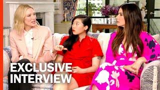 UNCUT 'Ocean's 8' Cast Interviews   Rotten Tomatoes