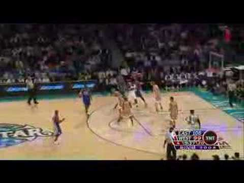 Lebron dunk on dirk and Amare dunk All-star 2008