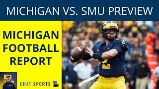 Michigan Football vs. SMU Preview: Jim Harbaugh, Wolverines Take On The Mustangs At The Big House