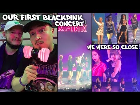 Our FIRST BLACKPINK Concert Vlog/Experience In FORT WORTH!!