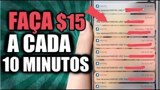 GANHE $ 15 CADA 30 MINUTOS (GANHE DINHEIRO ONLINE AGORA!)