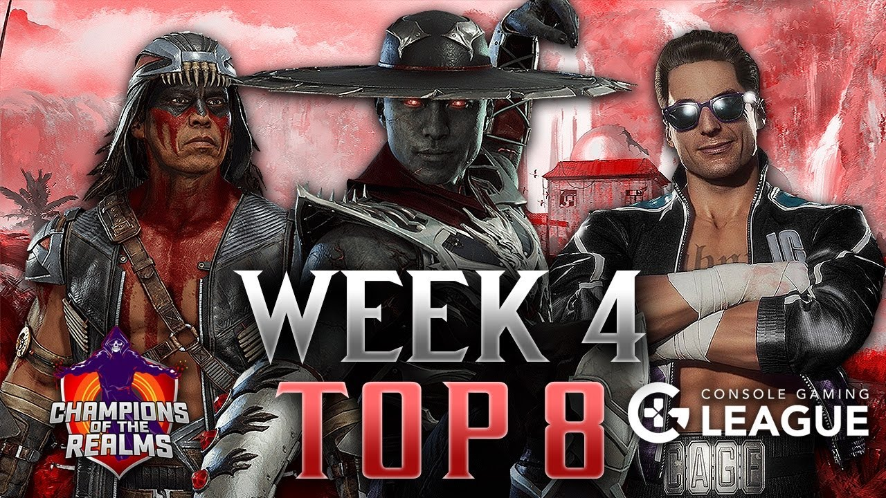 Champions of the Realms: Week 4 TOP 8 - Tournament Matches - MK11