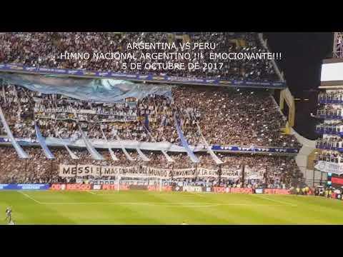 ¡Emocionante! El Himno Argentino filmado Desde la Tribuna de La Bombonera