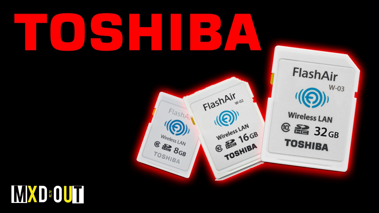 Toshiba FlashAir Wireless WI-FI SD Card!? | Review