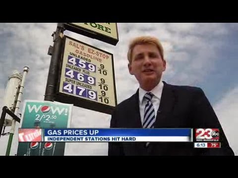 Independent gas stations hit hard by high fuel prices