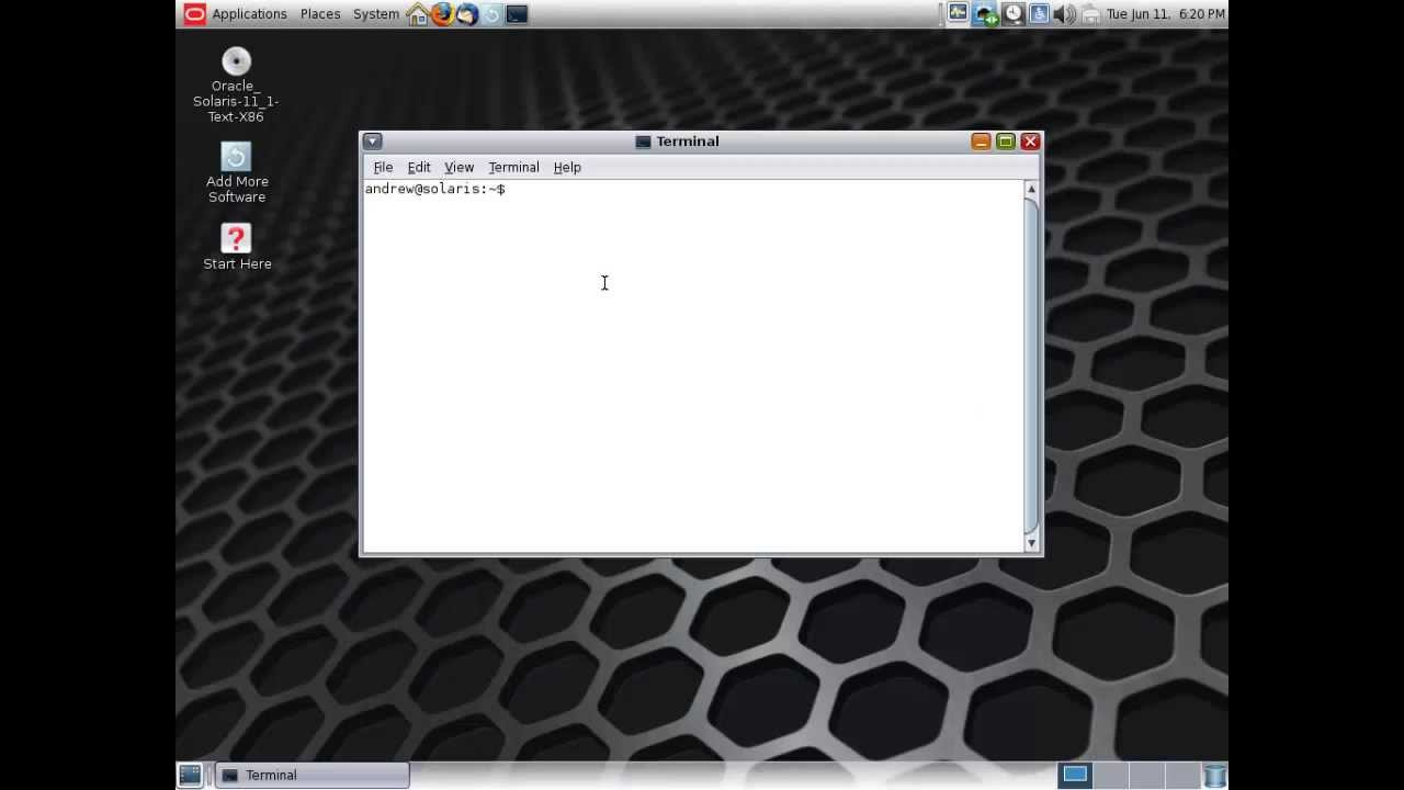 Solaris 11 Upgrade TEXT to GUI