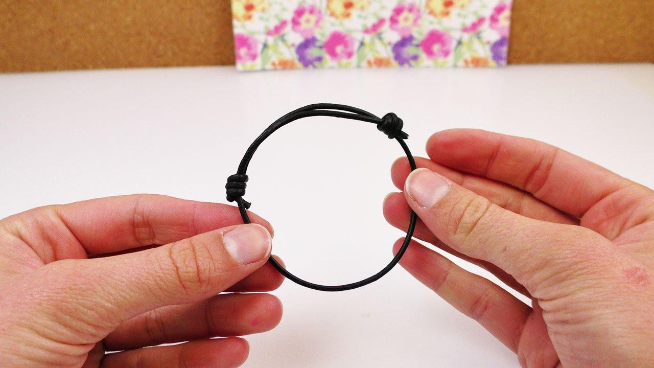 Turbo Schiebeknoten binden | Verstellbares Armband selber machen | mit FC84