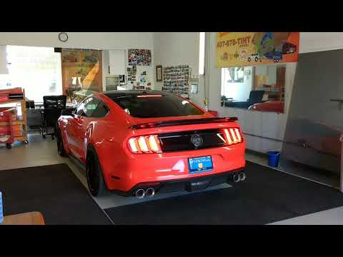 #Mustang Dyed Ceramic Film 99% UV, 61% Infrared Heat & 50% Radiant Heat Rejection