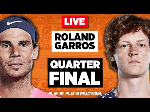 🔴 NADAL vs SINNER   French Open 2020   LIVE Tennis Play-by-Play