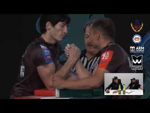 Oleg CHERKASOV vs Maxim JANDUBAEV - WorldArm 2017