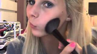 Ocean Blue Makeup Tutorial ♡   YouTube Thumbnail