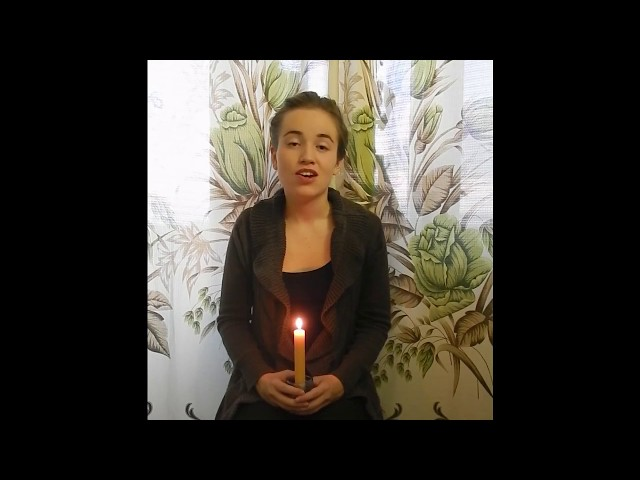 Изображение предпросмотра прочтения – КристинаСкворцова читает произведение «Жди меня иявернусь…» К.М.Симонова