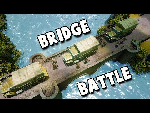 The Giant Bridge Battle!  (Foxhole Gameplay)