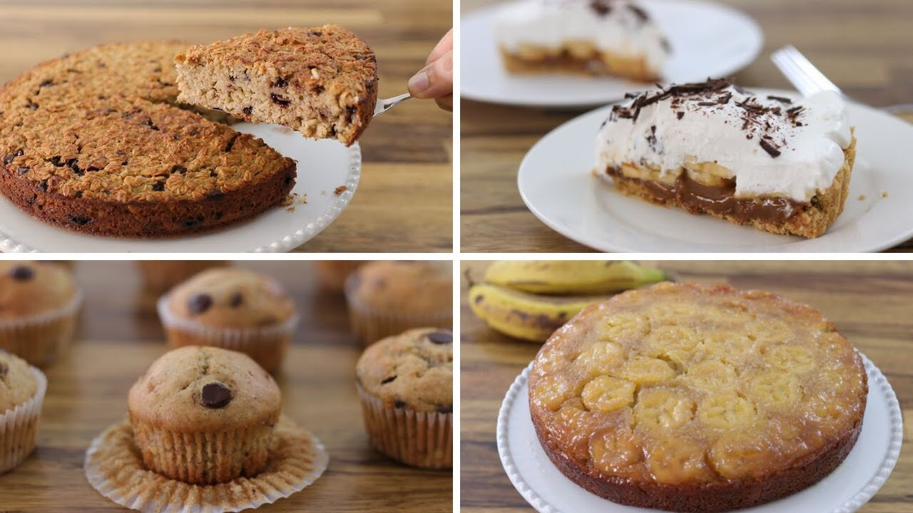 4 Easy Banana Dessert Recipes The Cooking Foodie