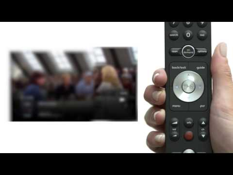 how to change input on bell fibe remote