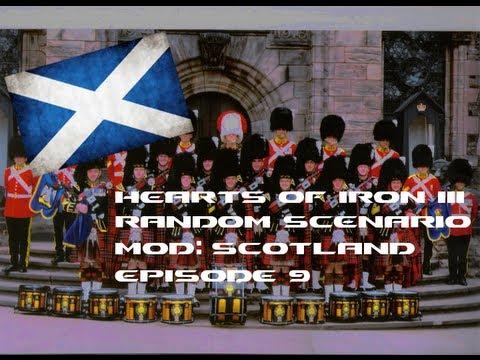 "Let's Play HoI III [Random Scenario Mod: Scotland] #009 ""One Hour Special"""