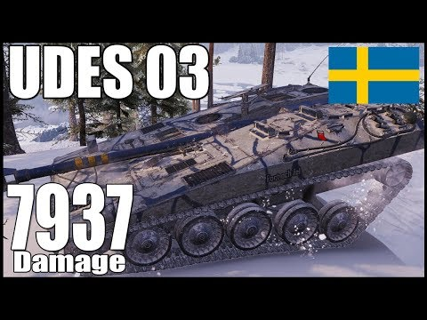 ⛔️ UDES03 - Secret Position - 8k Damage - World Of Tanks