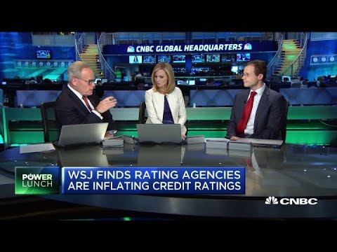 WSJ Finds Rating Agencies Inflating Credit Ratings