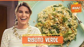 Risoto De Espinafre Abobrinha E Gorgonzola Na Panela De PressÃo  Rita Lobo  Cozinha Pratica