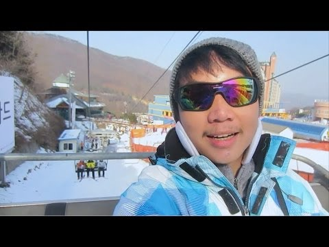 KOREA TOUR DAY 2 - Ski Resort and Everland (12/31/13)