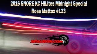 2016 SNORE KC HiLites Midnight Special Off-Road Race Ross Mattox #123