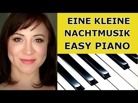 Mozart Eine Kleine Nachtmusik (A Little Night Music) Easy Piano/Sheet Music