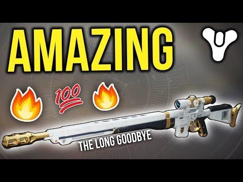 THE LONG GOODBYE IS AMAZING!! (Destiny 2) thumbnail