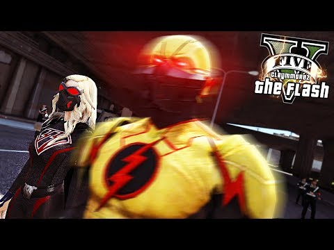 THE FLASH, ARROW, SUPERGIRL Team Up! Crisis On Earth X! (GTA 5 Flash Mod)