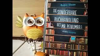 Die sonderbare Buchhandlung des Mr. Penumbra Robin Sloan Hörbuch