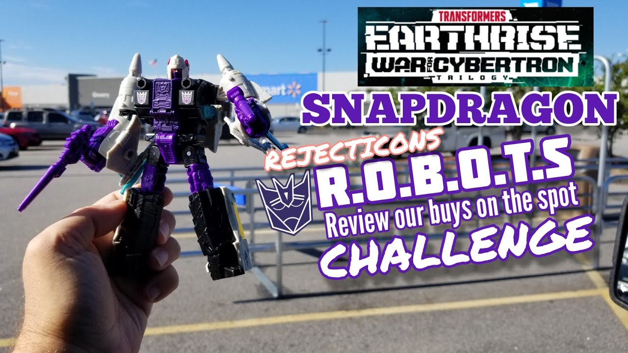 Earthrise Snapdragon Rejecticons Reviews on the Spot Challenge By Kato's Kollection