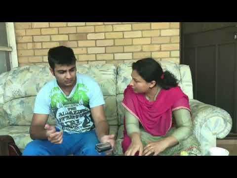 Who is SHE ? | Punjabi Funny Video | Latest Sammy Naz | Husband Wife Vines