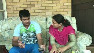 Who is SHE ? | Punjabi Funny Video | Latest Sammy Naz | Husband Wife Vines