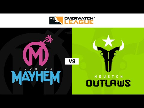 Houston Outlaws vs Florida Mayhem vod