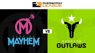 Florida Mayhem vs Houston Outlaws | Hosted by Philadelphia Fusion | Day 1