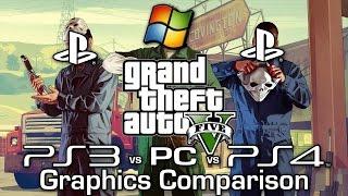 GTA V - PS3 vs PS4 vs PC - Graphics Comparison