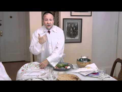 Passover Seder 101 #11 Hand Washing, Eating Matzah