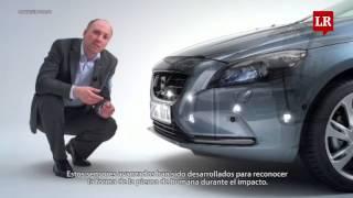El nuevo Volvo V40 está equipado con una bolsa de aire para peatones