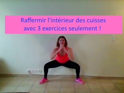 Raffermir l 39 int rieur des cuisses avec 3 exercices for Interieur des cuisses flasques