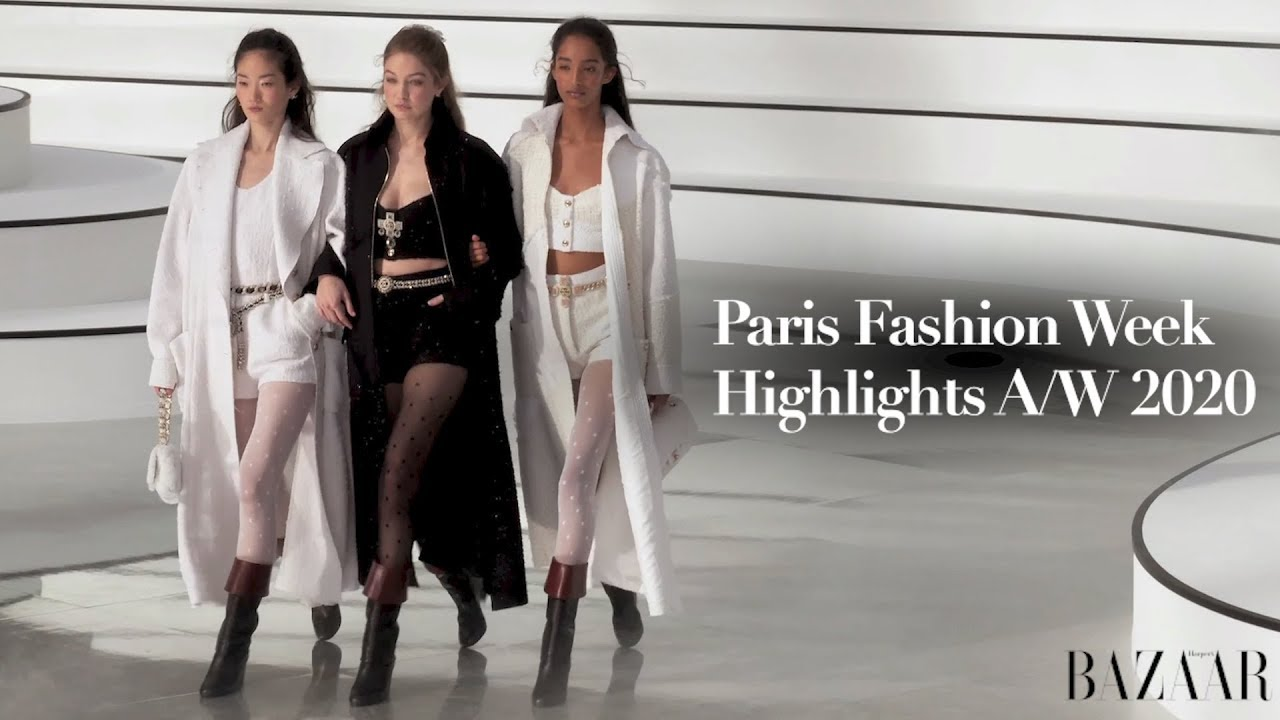 The Best Of Paris Fashion Week Autumn Winter 2020 Youtube