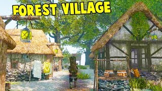 RULING A MEDIEVAL KINGDOM! Surviving the Winter! - Life is Feudal: Forest Village Gameplay Part 1