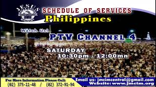 Please Watch!!! JMCIM Central Live Streaming of SUNDAY GENERAL WORSHIP | MAY 19, 2019.
