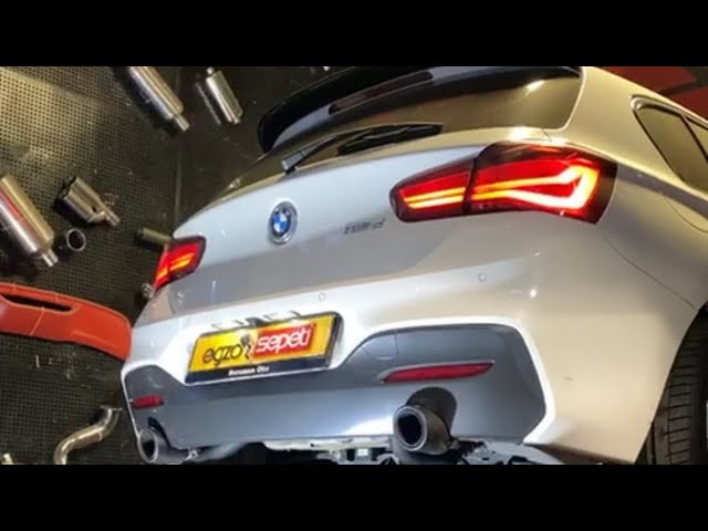 BMW F20 1.16 DİZEL KUMANDALI VAREX EGZOZ SESİ