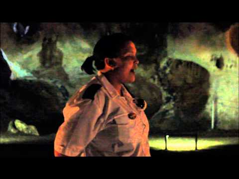 Guide Cango Caves sings national anthem South Africa