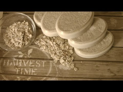 Goats Milk And Oatmeal Melt & Pour Soap Base(Jabones Con Avena Y Leche De Cabra)