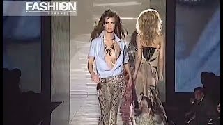 ROBERTO CAVALLI Spring Summer 2004 Milan - Fashion Channel