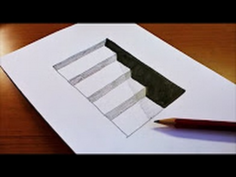 Ok Kolay 3d Merdiven Izimi Ka Da 3d Izim Youtube