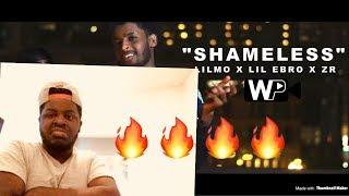 Gambar cover Lilmo- Shameless ft Lil Ebro & ZR REACTION